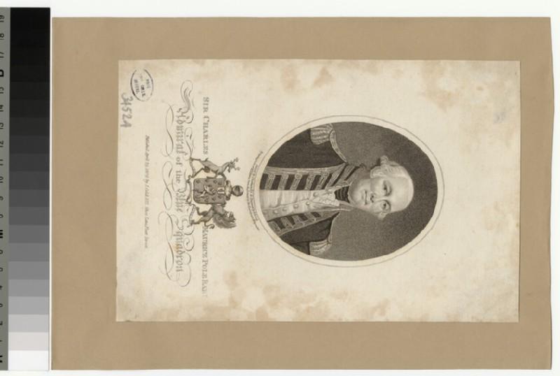 Portrait of Admiral Sir C. M. Pole