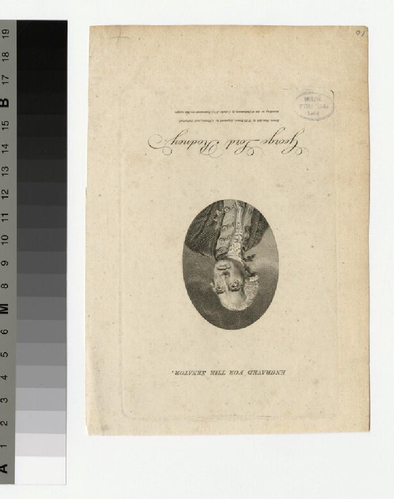 Portrait of Lord Rodney