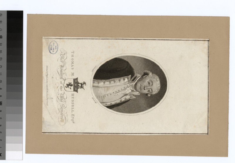 Portrait of Admiral T. M. Russell (WAHP34583)