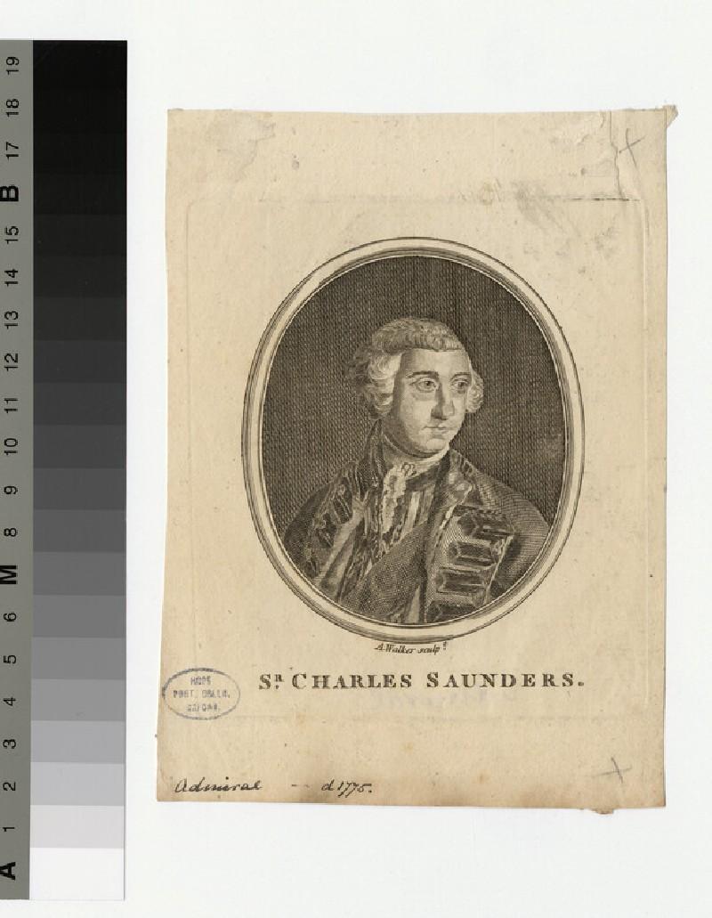 Portrait of Sir C. Saunders (WAHP34597)