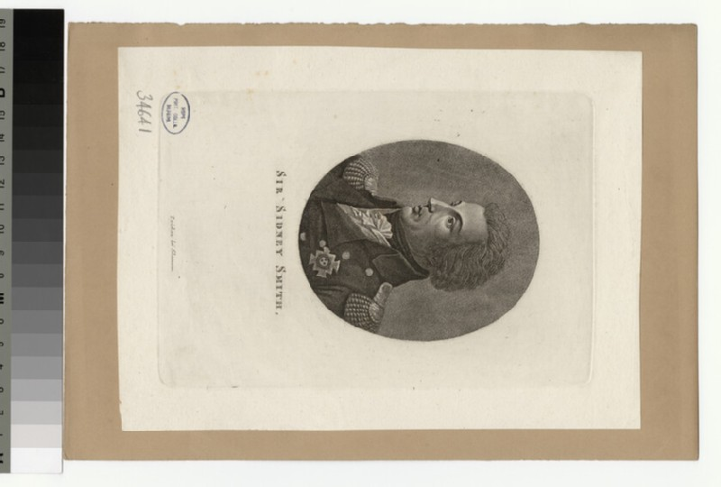 Portrait of Sir S. Smith (WAHP34641)