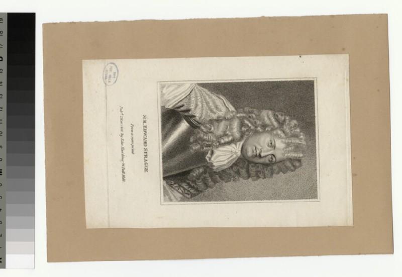 Portrait of Sir E. Spragge (WAHP34651)