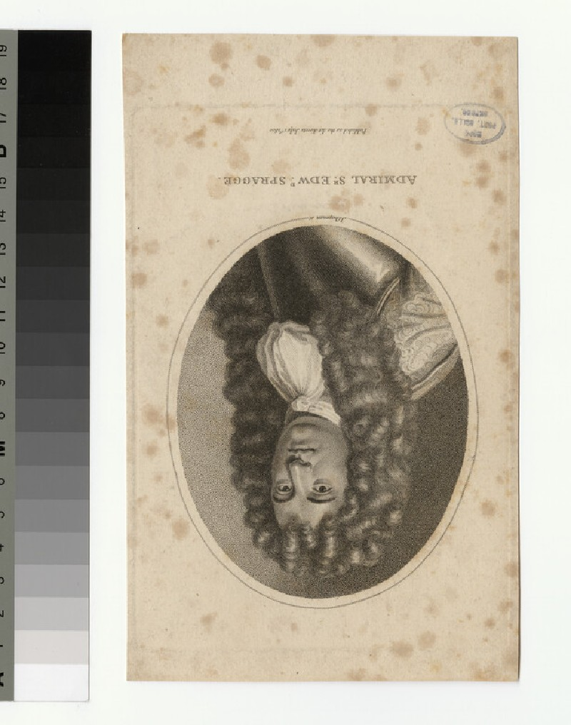 Portrait of Admiral Sir E. Spragge (WAHP34652)