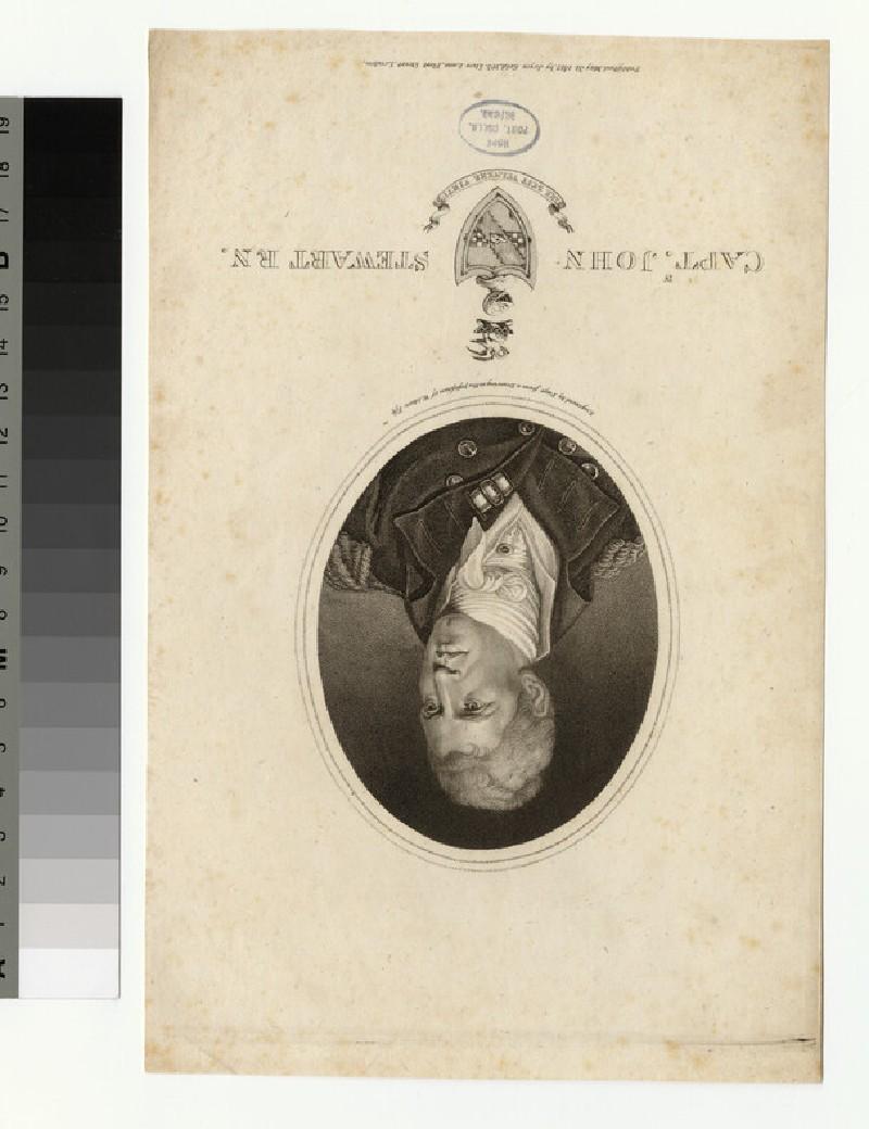 Portrait of Capt J. Stewart (WAHP34657)