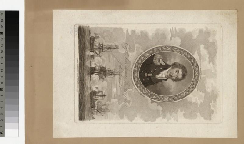 Portrait of Capt. Thomas B. Thompson