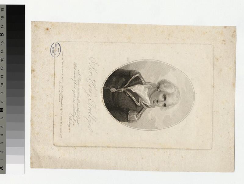 Portrait of Admiral Sir H. Trollope