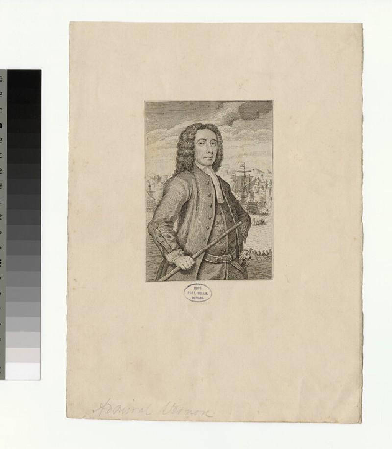 Portrait of Admiral Vernon (WAHP34703)