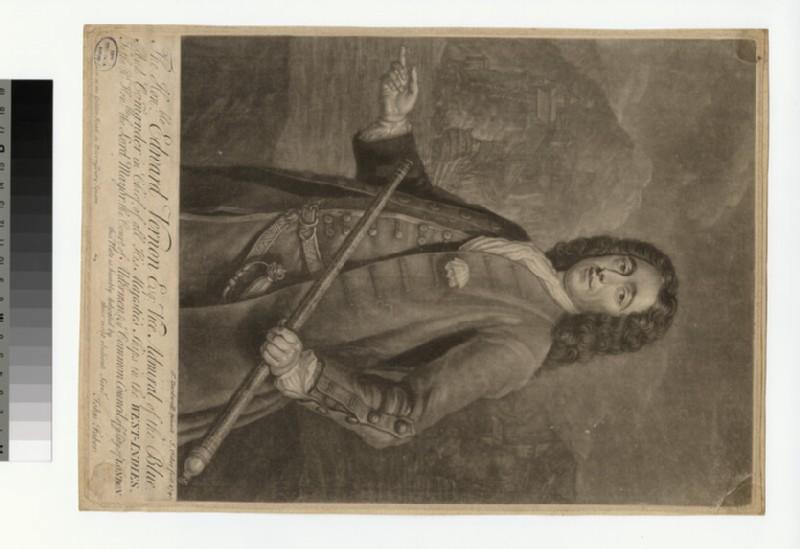 Portrait of Admiral Vernon (WAHP34706)