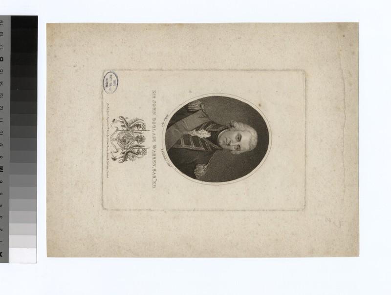 Portrait of Sir J. B. Warren (WAHP34739)