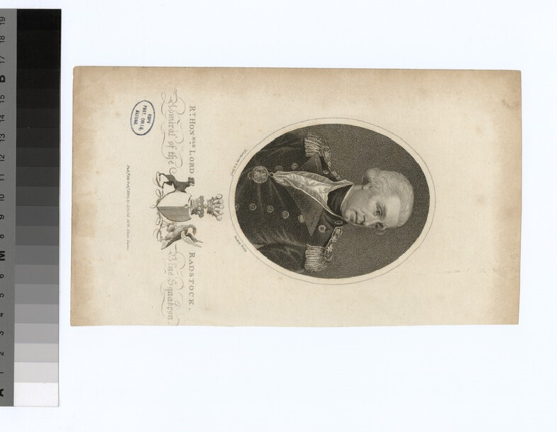 Portrait of Admiral Lord Radstock (WAHP34741)