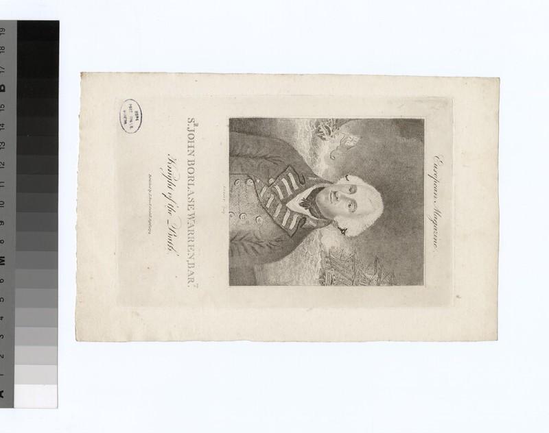Portrait of Sir John Borlase Warren (WAHP34745.2)