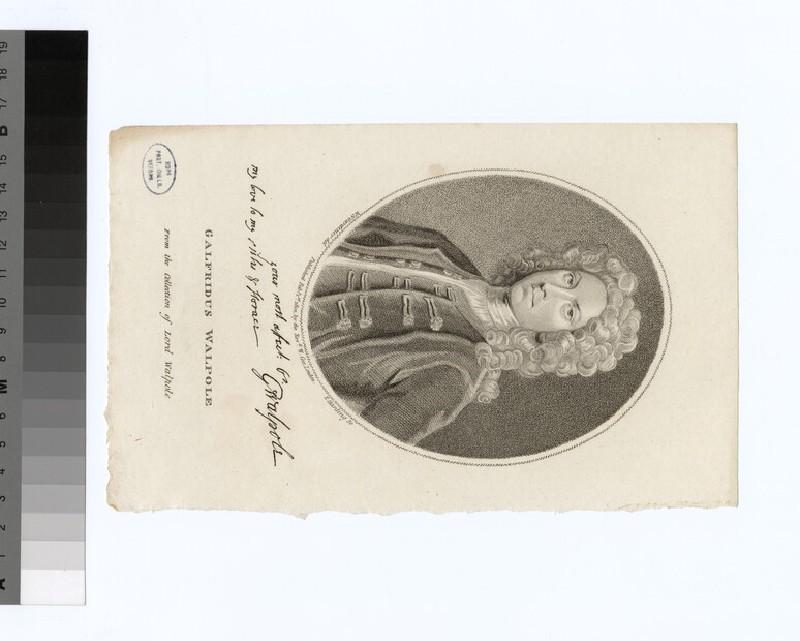 Portrait of G. Walpole