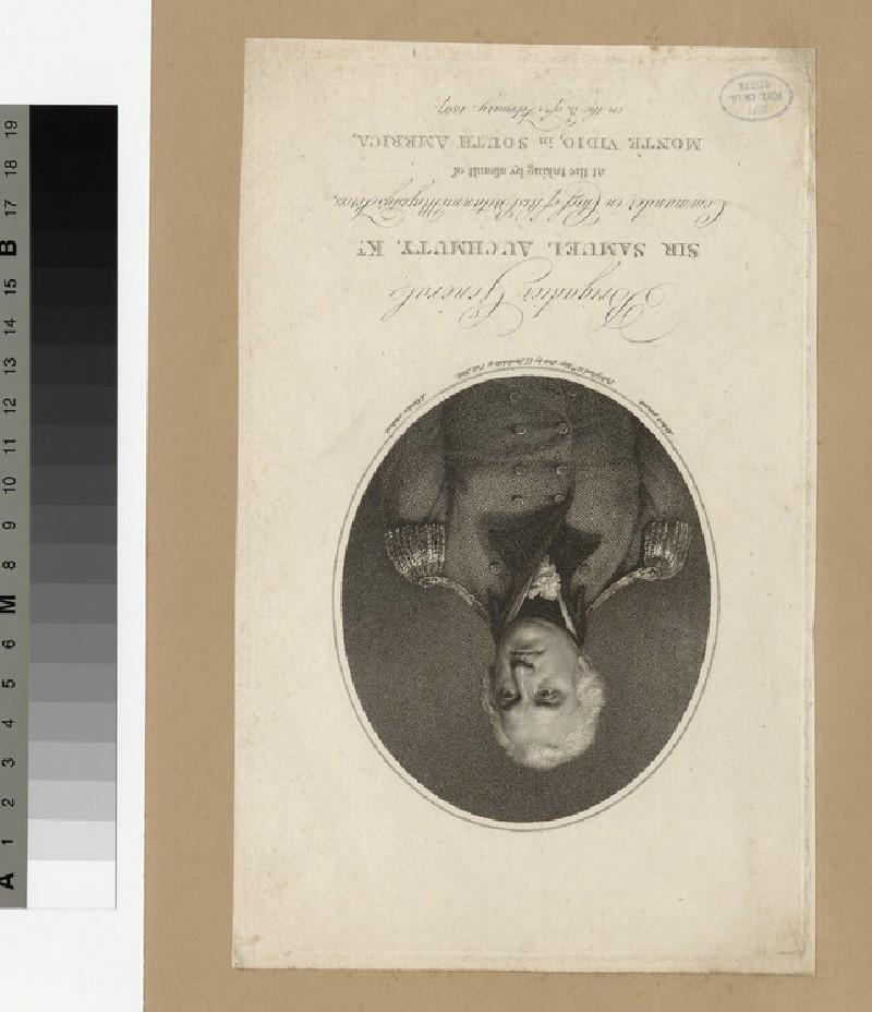 Portrait of Sir S. Auchmuty