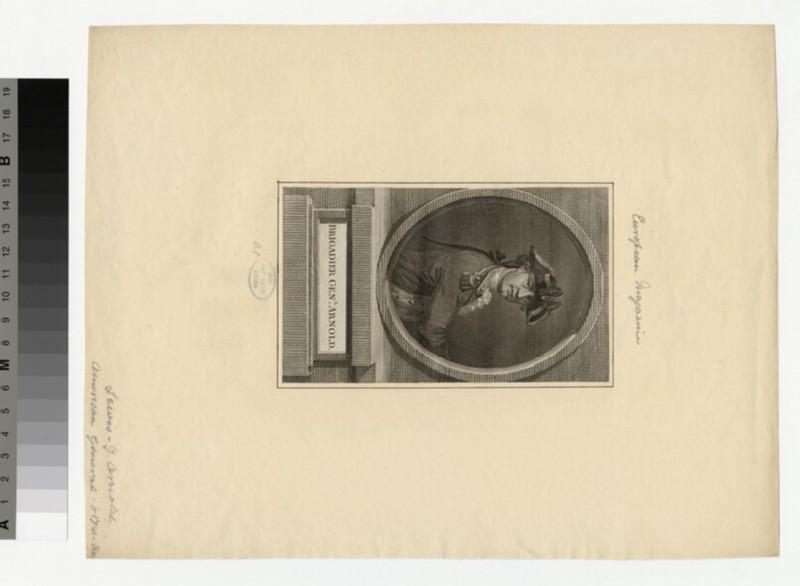 Portrait of Brigadier Gen. Benedict Arnold (WAHP34773)