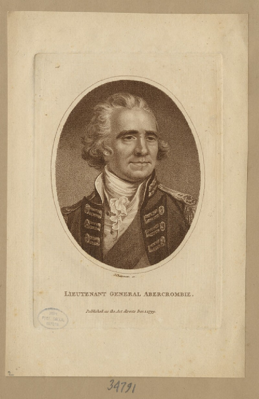 Portrait of Lt. Gen Abercrombie