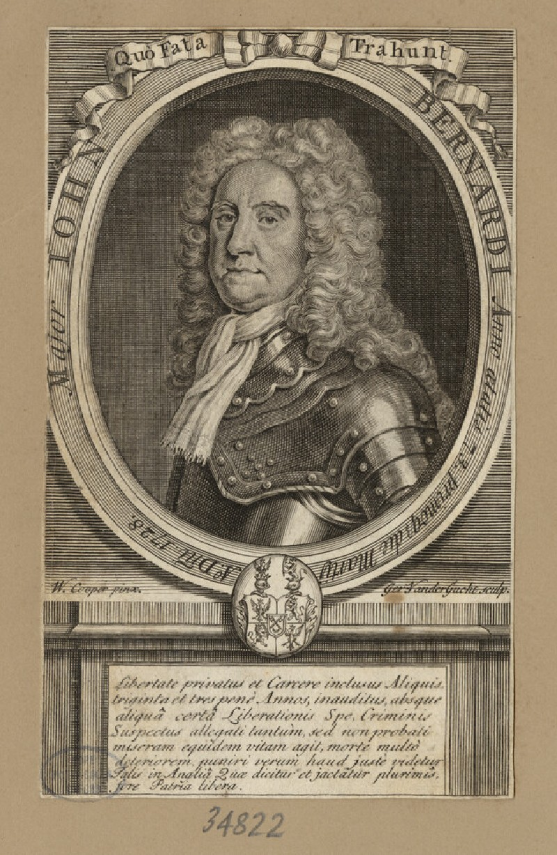 Portrait of J. Bernardi