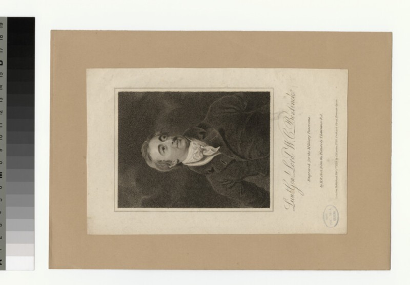 Portrait of Lord W. C. Bentinck