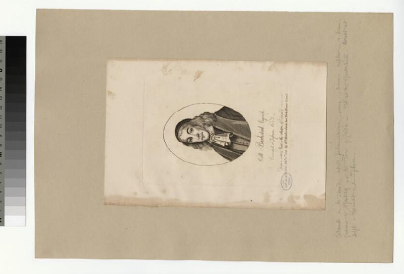 Portrait of Col Barkstead