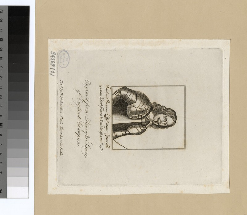Portrait of Richard Browne