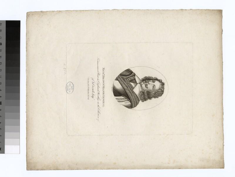 Portrait of R. Brown
