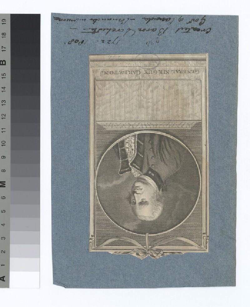 Portrait of Gen.Sir G. Carleton