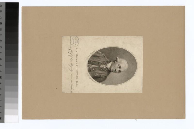 Portrait of Sir H. Clinton (WAHP34987)