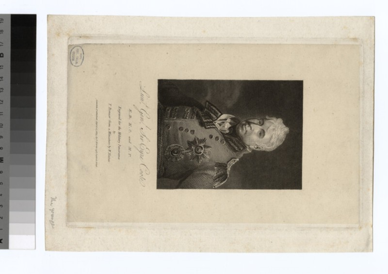 Portrait of Sir Eyre Coote (WAHP35013.1)