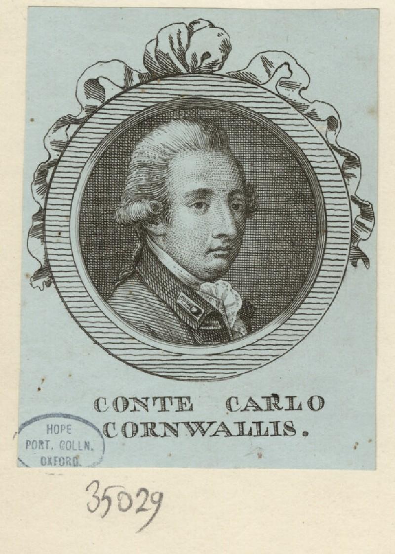 Portrait of Cornwallis