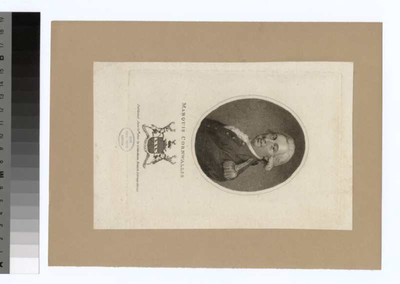 Portrait of Marquis Cornwallis (WAHP35032)