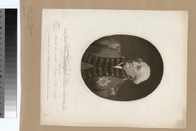 Portrait of Marquis Charles Cornwallis