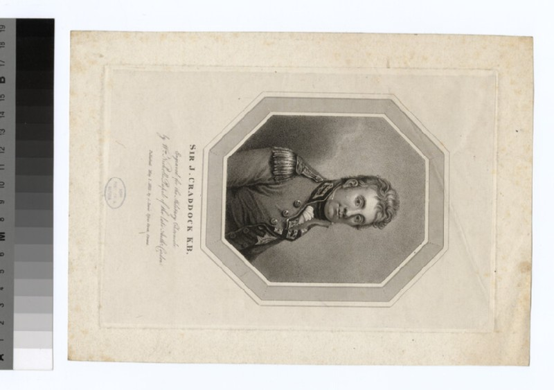Portrait of Sir J. Craddock (WAHP35044)