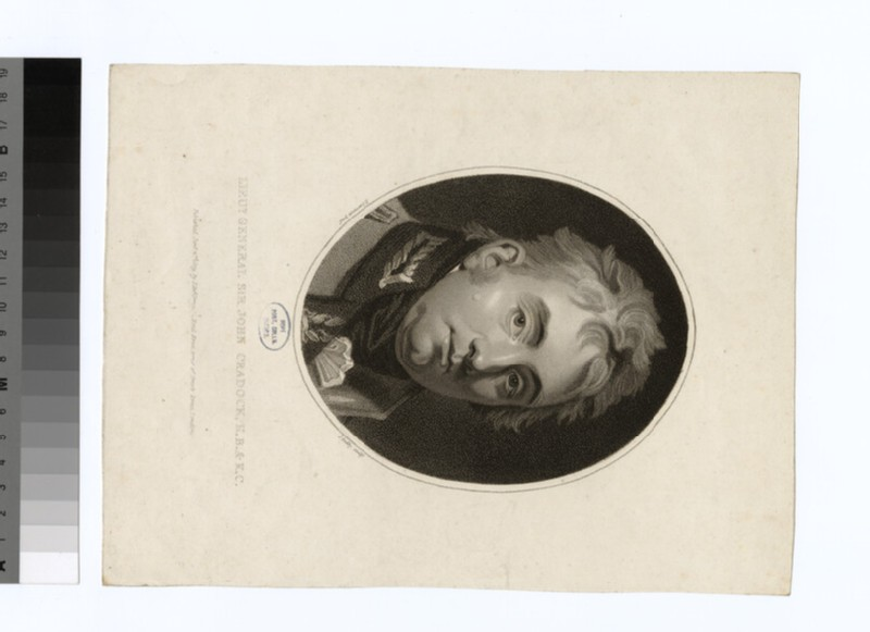 Portrait of Sir J. Cradock