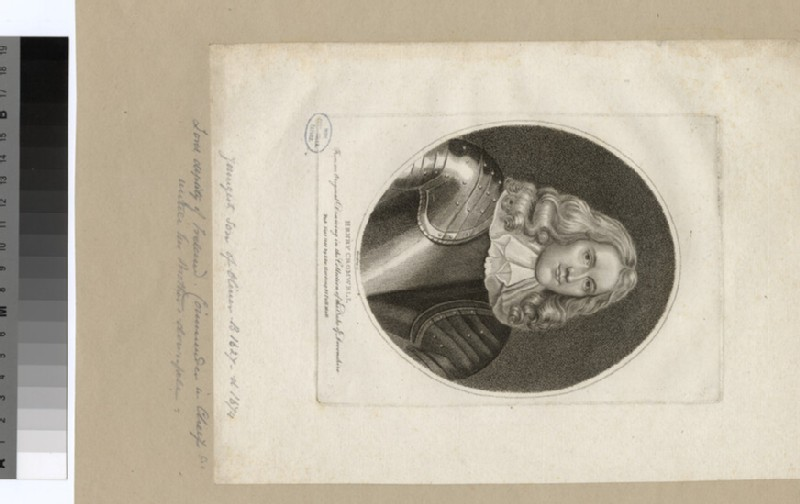 Portrait of H. Cromwell (WAHP35051)