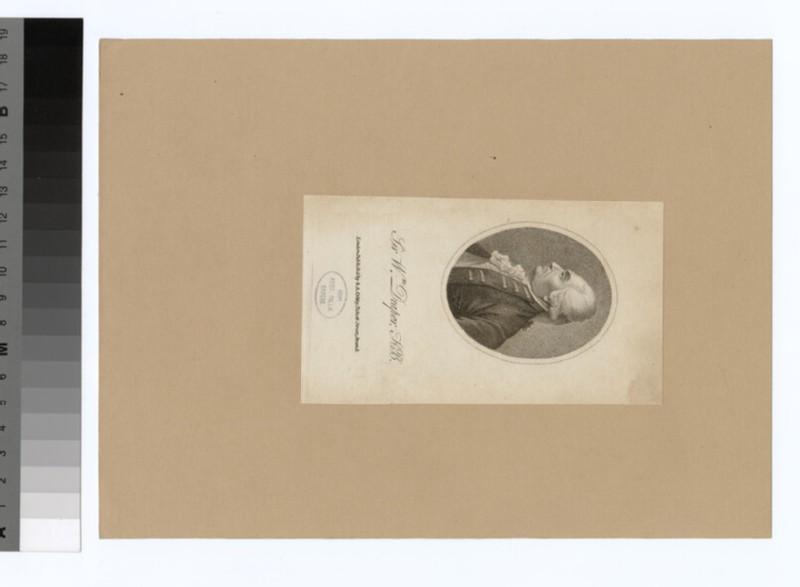 Portrait of Sir W. Draper (WAHP35094)