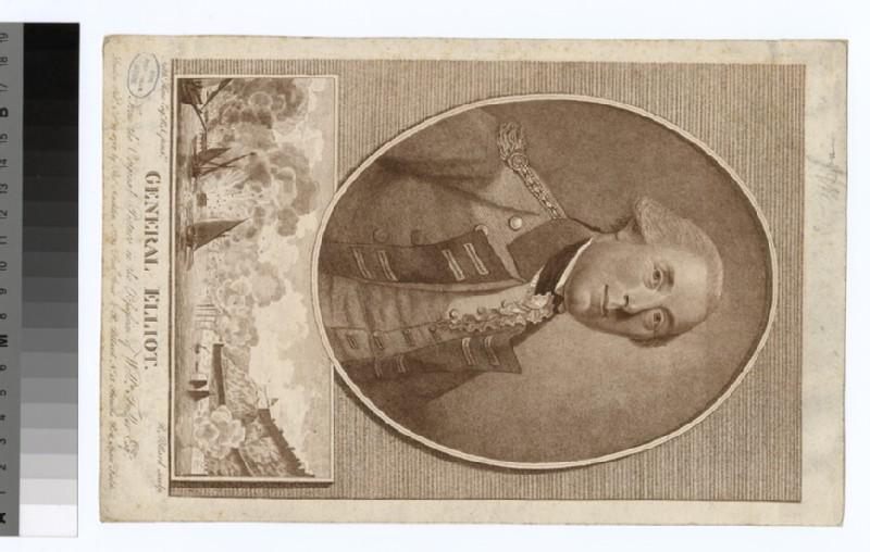 Portrait of Gen Elliott (WAHP35110.1)