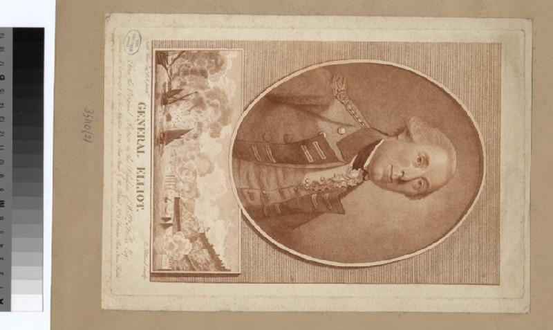 Portrait of Gen Elliott (WAHP35110.2)