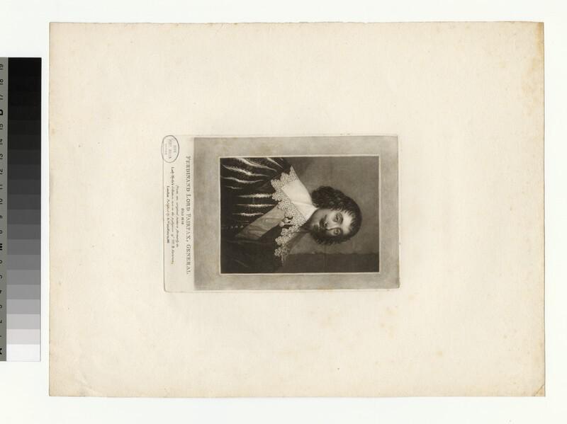 Portrait of Gen Fairfax (WAHP35126)