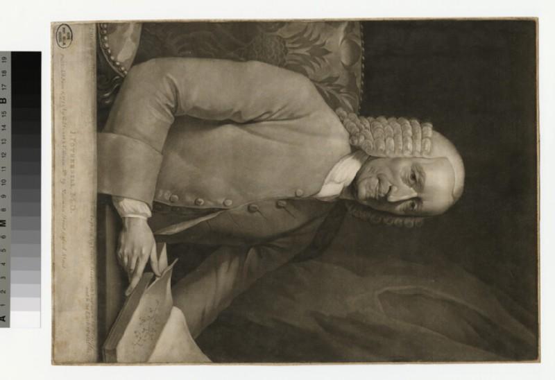 Portrait of Dr J. Fothergill