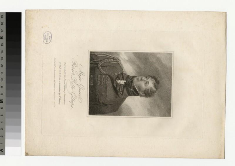 Portrait of Maj. Gen Gillespie (WAHP35257)