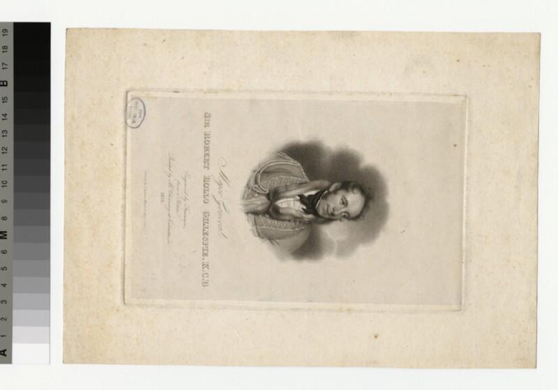 Portrait of Maj.Gen.R. R. Gillespie