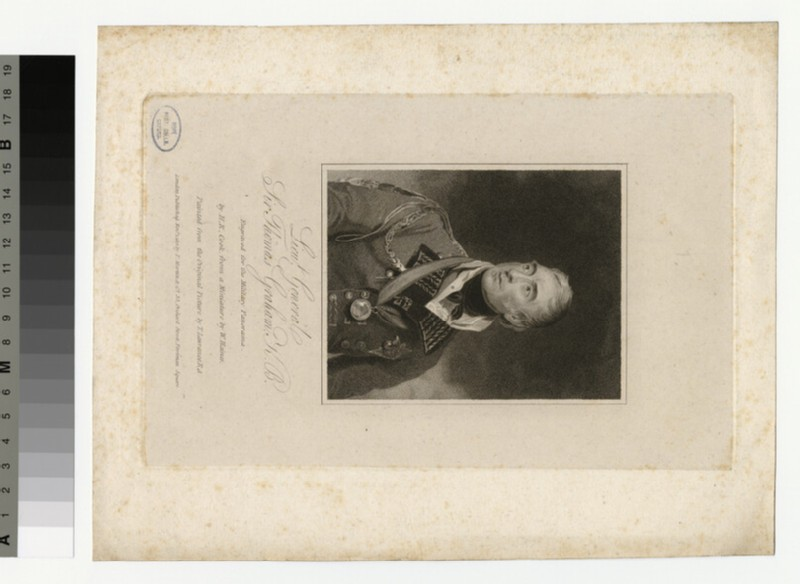 Portrait of Sir T. Graham (WAHP35270)