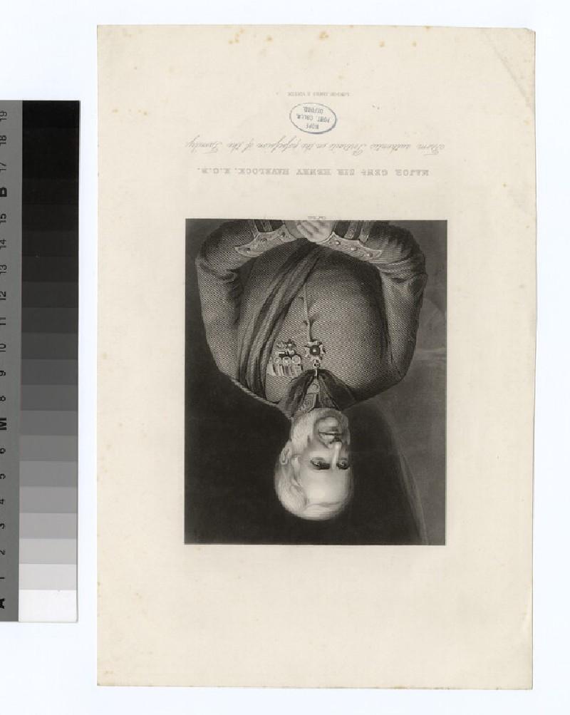 Portrait of Gen Henry Havelock (WAHP35323)