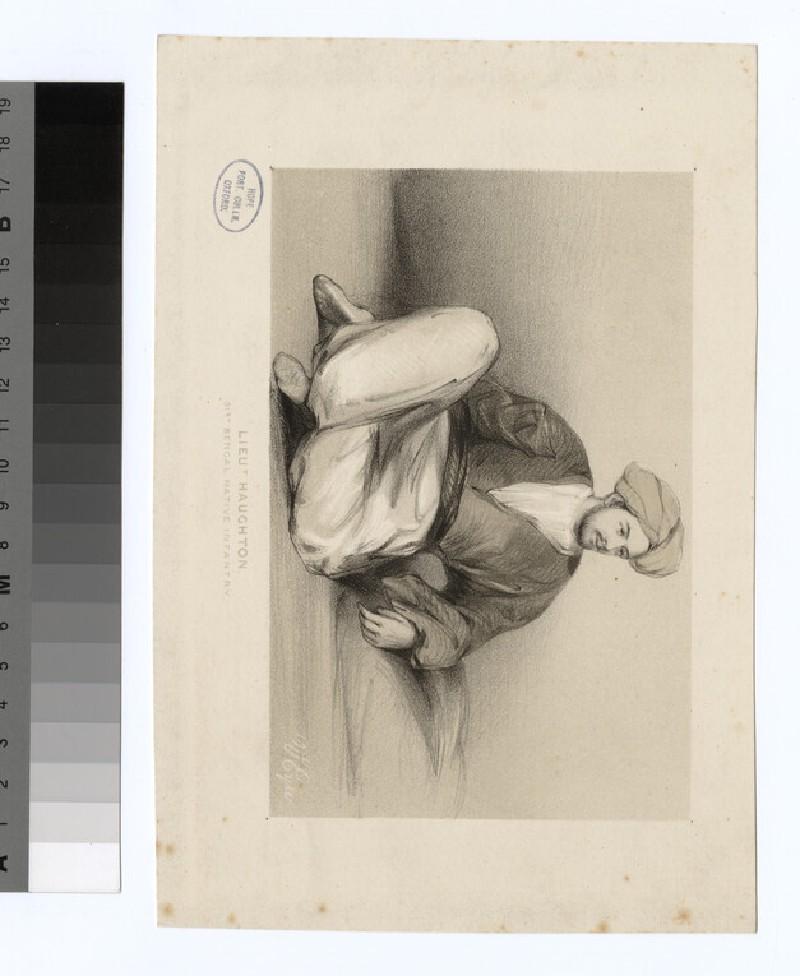 Portrait of Lt Haughton (WAHP35324)
