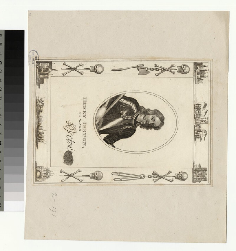 Portrait of H. Ireton (WAHP35420)