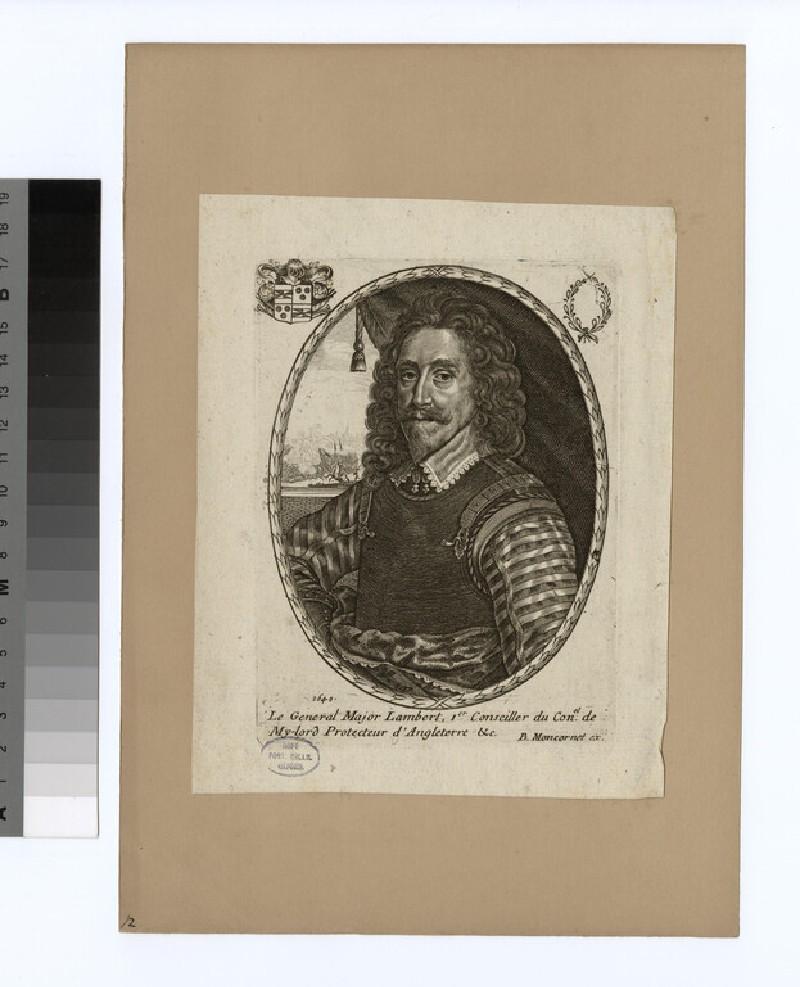 Portrait of Maj. Gen Lambert