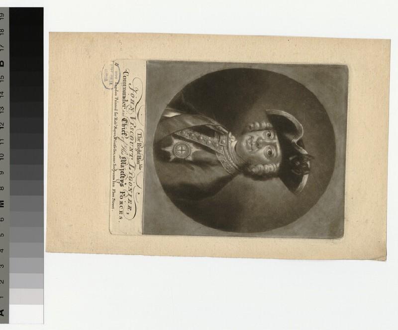 Portrait of Visc Ligonier