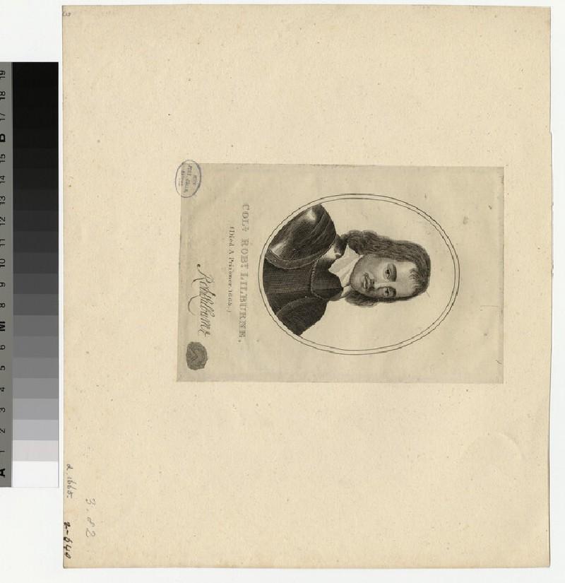 Portrait of Col.R. Lilburne