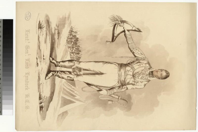 Portrait of Lt. Gen.Lord Lynedock