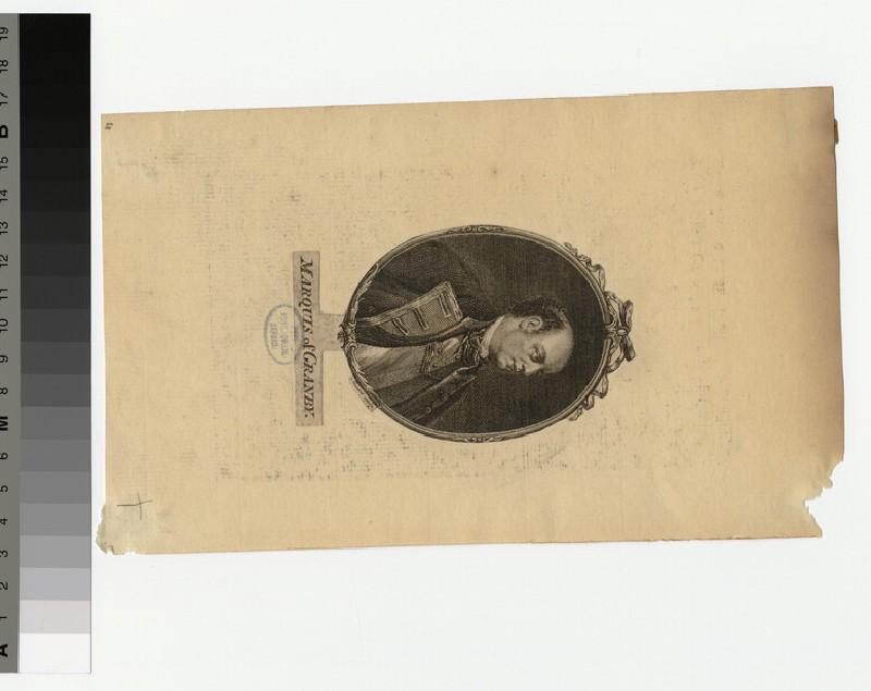 Portrait of Marquis Granby