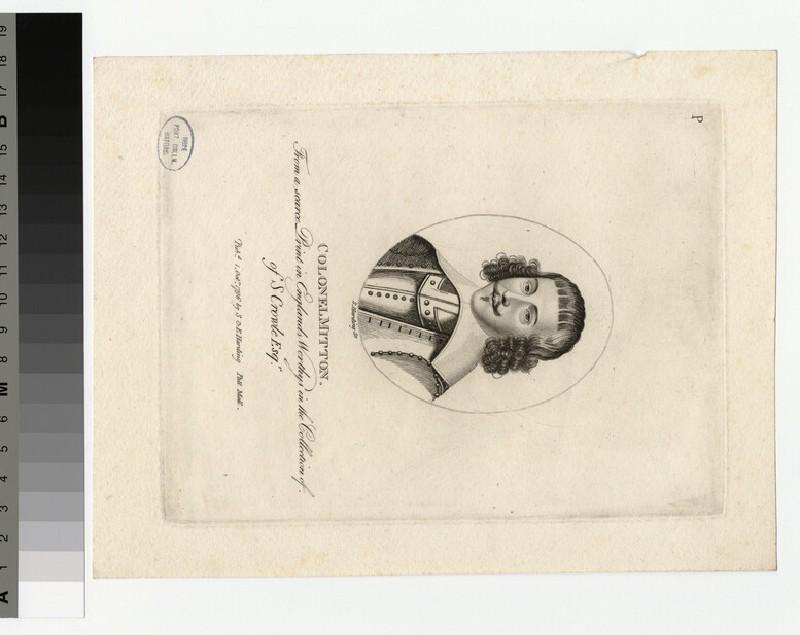 Portrait of Col Mitton (WAHP35598)